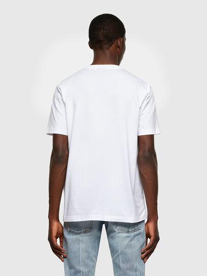 Diesel - T-JUST-LAB, Weiß - T-Shirts - Image 2
