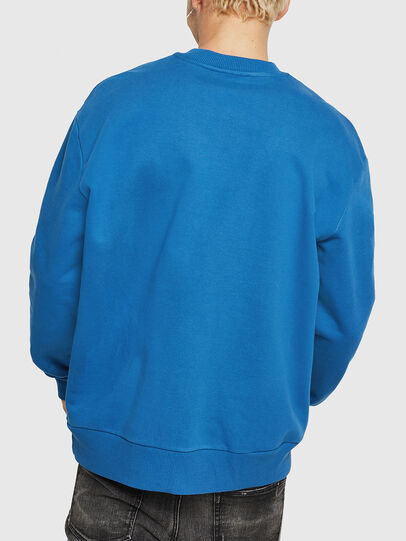 Diesel - S-CREW-DIVISION, Blau - Sweatshirts - Image 2