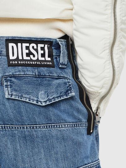 Diesel - D-Luks 009CL, Hellblau - Jeans - Image 7