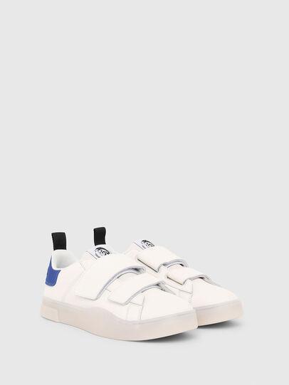 Diesel - S-CLEVER LOW STRAP, Weiß/Blau - Sneakers - Image 2