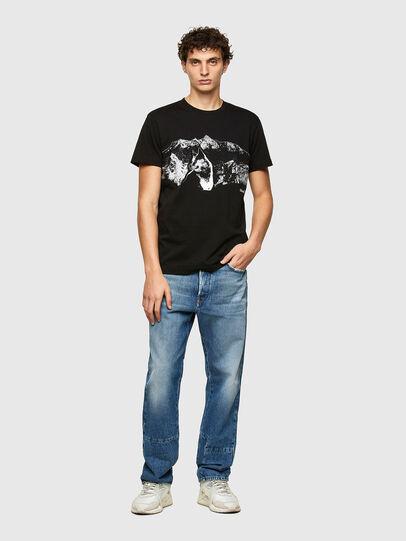 Diesel - T-DIEGOS-A7, Schwarz - T-Shirts - Image 4
