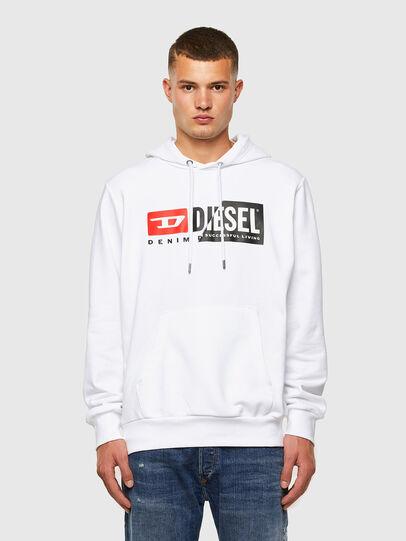 Diesel - S-GIRK-HOOD-CUTY, Weiß - Sweatshirts - Image 4