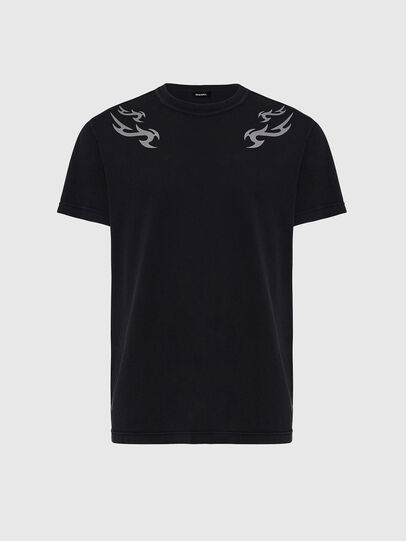 Diesel - T-DIEBIND, Schwarz - T-Shirts - Image 1