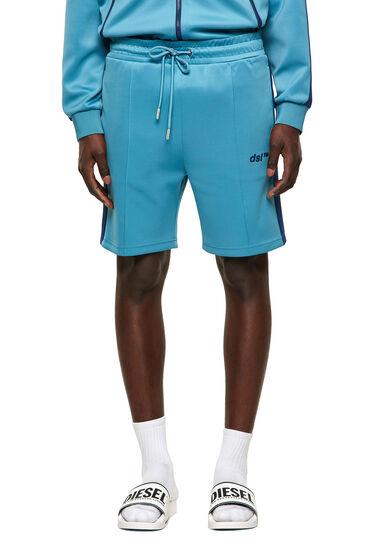 Green Label Shorts aus leichtem Scuba-Material