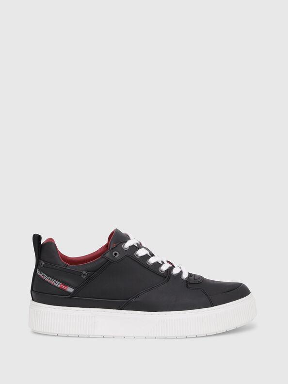S-DANNY LC, Schwarz/ Rot - Sneakers