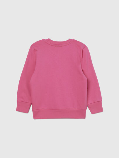 Diesel - SGIRKCUTYB-FL-R, Rosa - Sweatshirts - Image 2