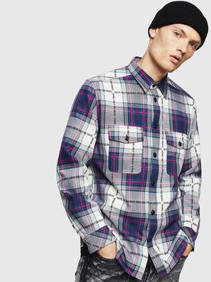 S-MILLER-A, Blau - Hemden