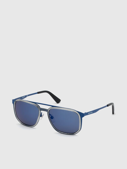 Diesel - DL0294, Blau - Sonnenbrille - Image 2