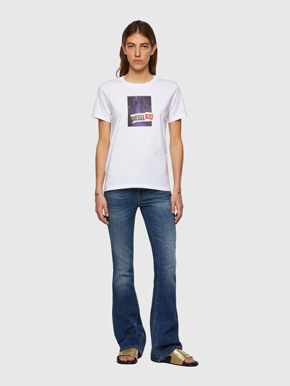 Diesel - T-SILY-B3, Weiß - T-Shirts - Image 4