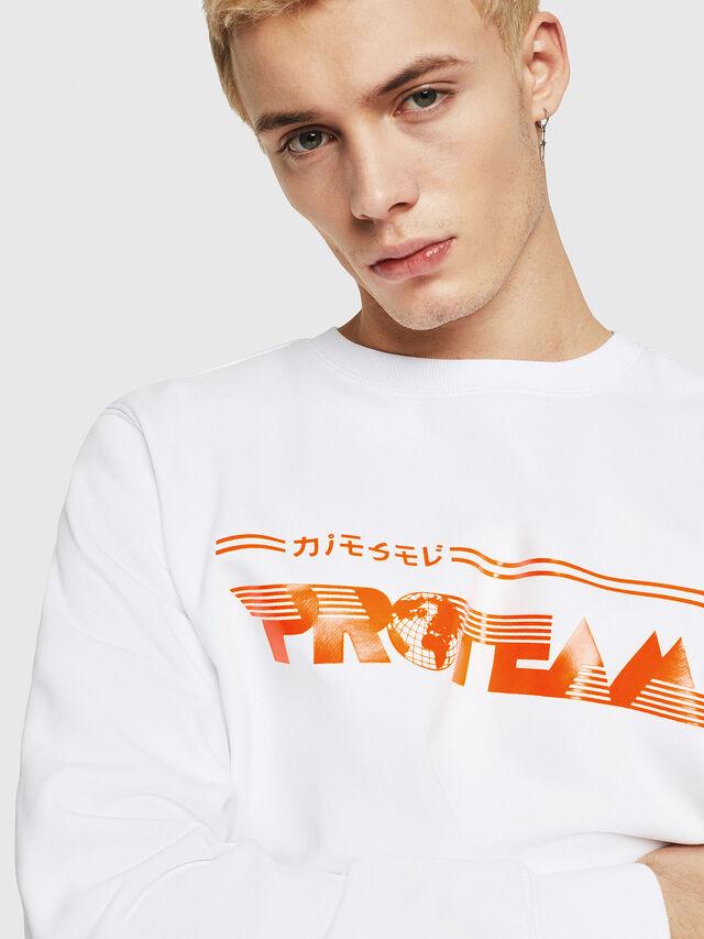 Diesel - S-GIR-Y1, Weiß - Sweatshirts - Image 3