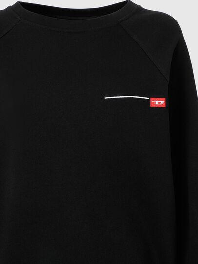 Diesel - UFTL-RAGLY, Schwarz - Sweatshirts - Image 3