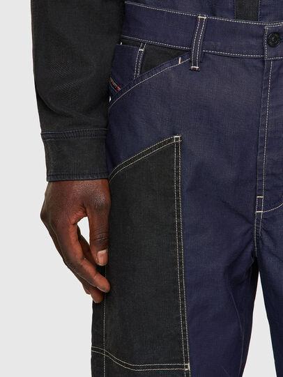 Diesel - D-Franky JoggJeans® 0EEAW, Dunkelblau - Jeans - Image 4