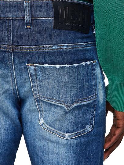 Diesel - Krooley JoggJeans® 09B52, Mittelblau - Jeans - Image 4