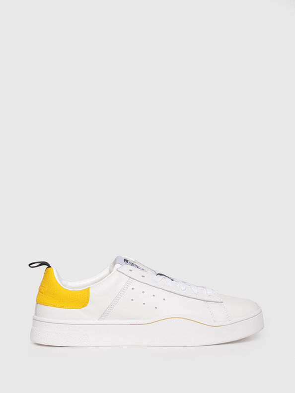 S-CLEVER LOW, Weiß/Gelb - Sneakers