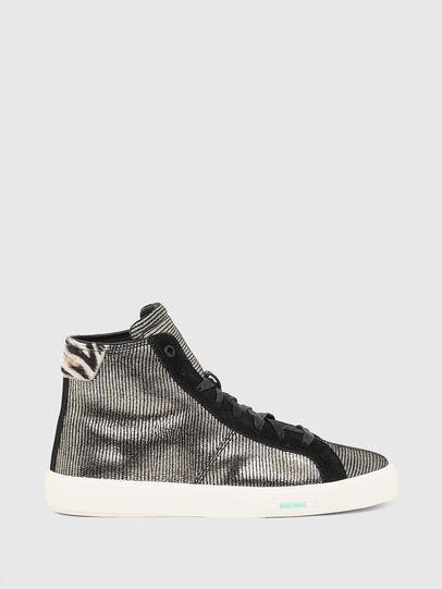 Diesel - S-MYDORI MC W, Grau/Schwarz - Sneakers - Image 1