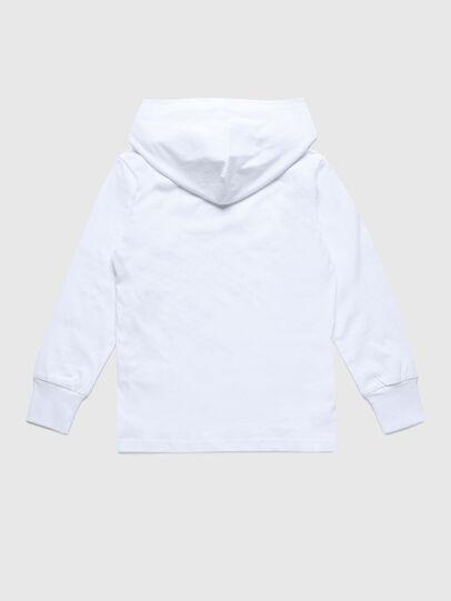 Diesel - TDIEGOHOODS3 ML, Weiß - T-Shirts und Tops - Image 2