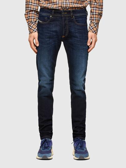 Diesel - Sleenker 009EY, Dunkelblau - Jeans - Image 1