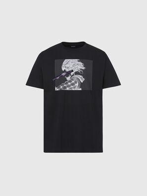 T-TUBOLAR-X20, Schwarz - T-Shirts