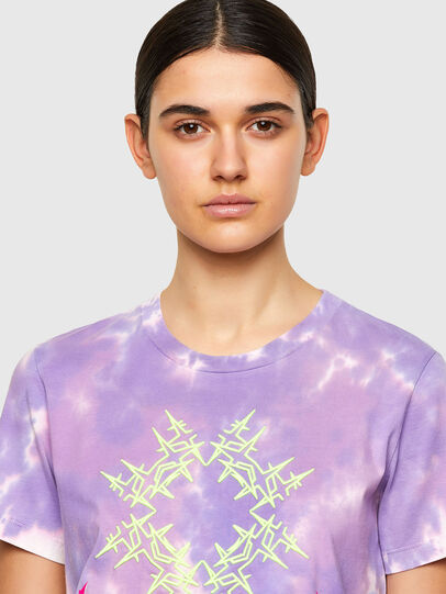 Diesel - T-SILY-A12, Lila - T-Shirts - Image 4