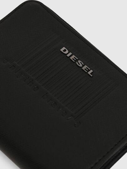 Diesel - L-12 ZIP, Schwarz - Portemonnaies Zip-Around - Image 6