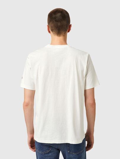 Diesel - T-JUST-B67, Weiß - T-Shirts - Image 2