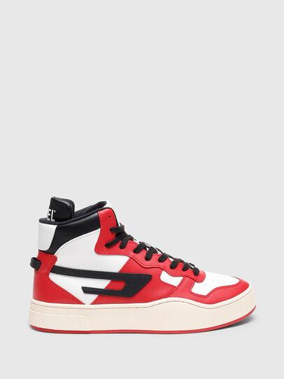 Diesel - S-UKIYO MID, Rot/Weiss - Sneakers - Image 1