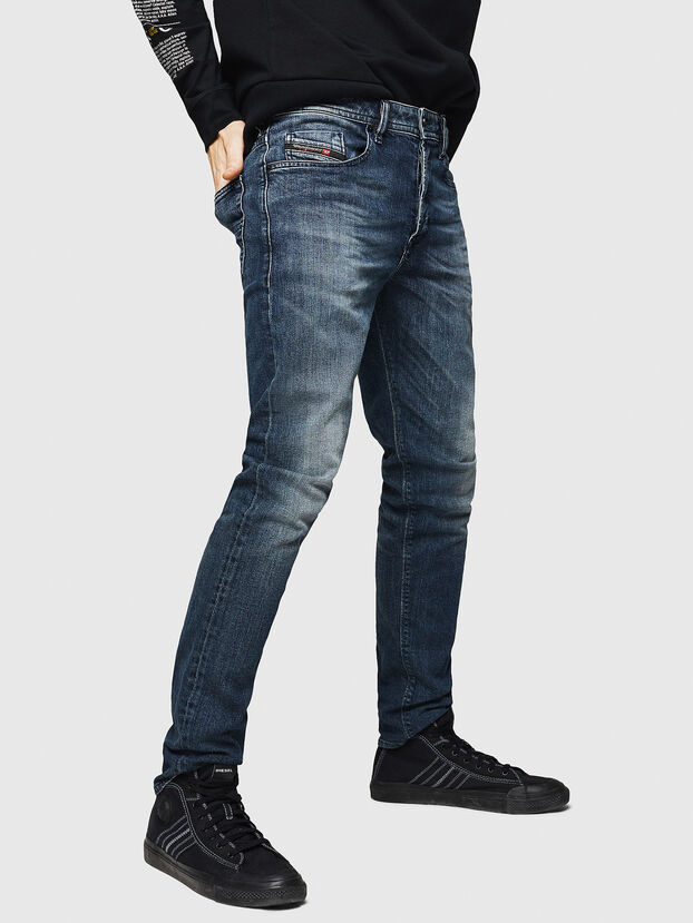 Buster 084AS, Dunkelblau - Jeans