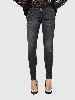 Slandy Low 083AI, Schwarz/Dunkelgrau - Jeans