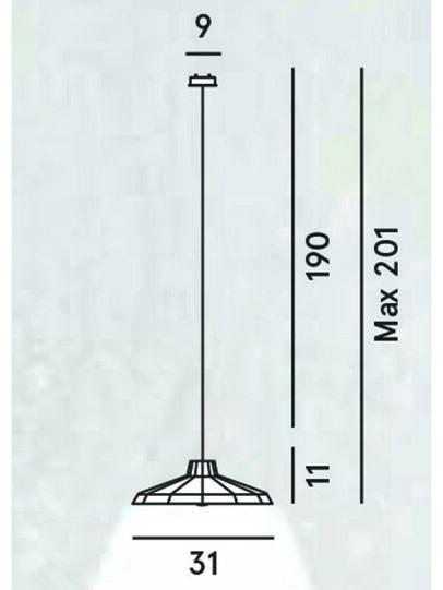 Diesel - MYSTERIO SOSPENSIONE, Schwarz/Grau - Pendellampen - Image 2