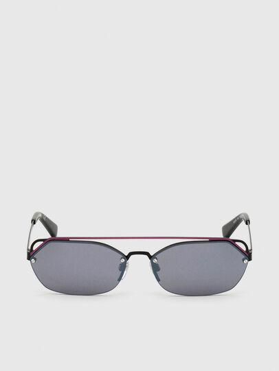 Diesel - DL0313, Schwarz/Violett - Sonnenbrille - Image 1