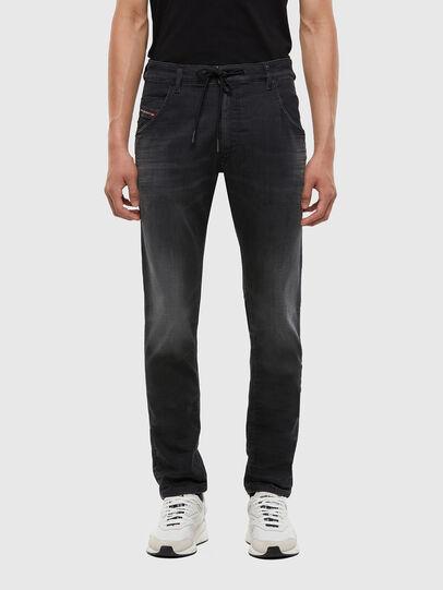 Diesel - Krooley JoggJeans 009KD, Schwarz/Dunkelgrau - Jeans - Image 1