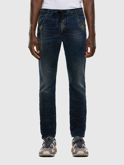 Diesel - Krooley JoggJeans 069NP, Dunkelblau - Jeans - Image 1