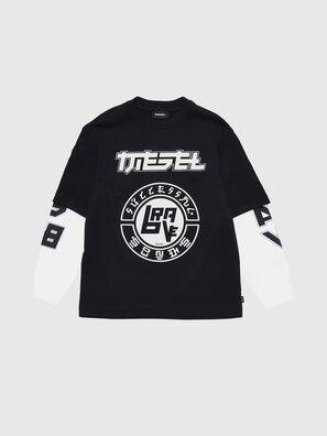 TSOUND OVER, Schwarz/Weiß - T-Shirts und Tops