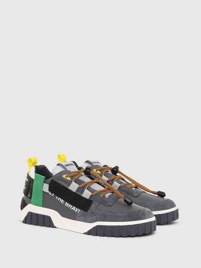 Diesel - S-RUA LOW SP, Grau - Sneakers - Image 2