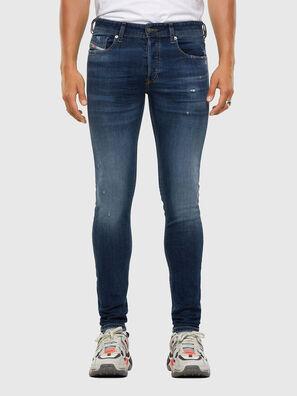 Sleenker 009DK, Dunkelblau - Jeans