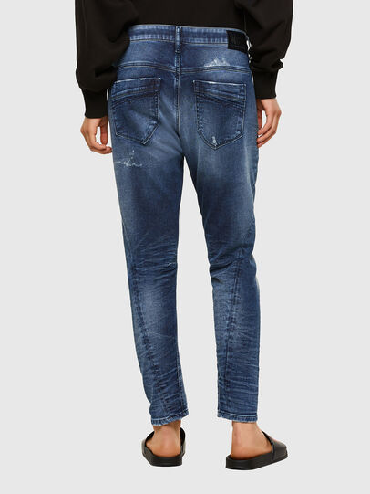 Diesel - Fayza JoggJeans® 0096M, Dunkelblau - Jeans - Image 2