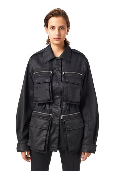 Workwear-Jacke aus beschichtetem JoggJeans®