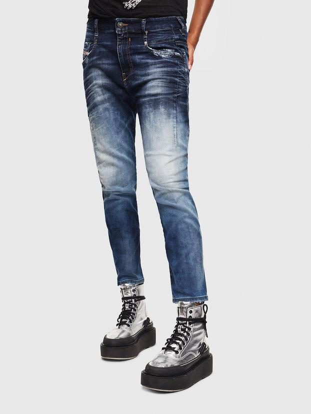 Fayza JoggJeans 069KD, Dunkelblau - Jeans