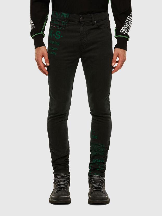 D-Reeft JoggJeans 009HD, Schwarz/Dunkelgrau - Jeans