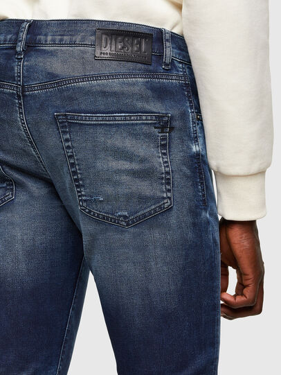Diesel - D-Strukt JoggJeans® 069SL, Dunkelblau - Jeans - Image 4