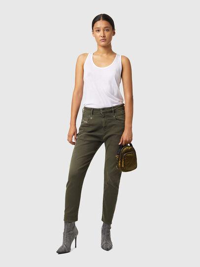 Diesel - Fayza JoggJeans® Z670M, Armeegrün - Jeans - Image 4