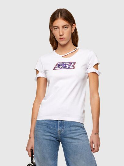 Diesel - T-BULLOCK-A2, Weiß - T-Shirts - Image 1