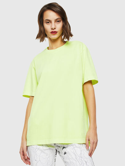 Diesel - T-JUST-SLITS-FLUO,  - T-Shirts - Image 2