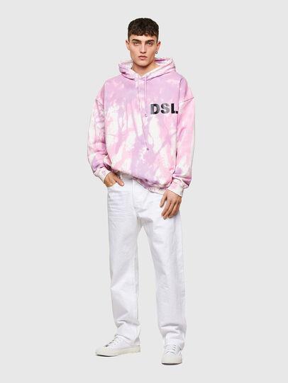 Diesel - S-UMMERIB-E1, Rosa - Sweatshirts - Image 5