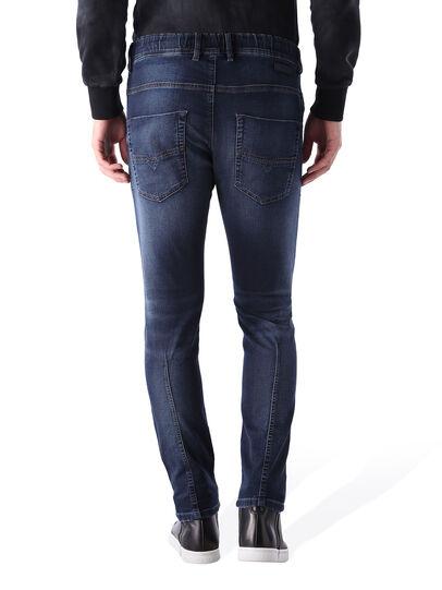 Diesel - Krooley JoggJeans 0848K, Dunkelblau - Jeans - Image 3