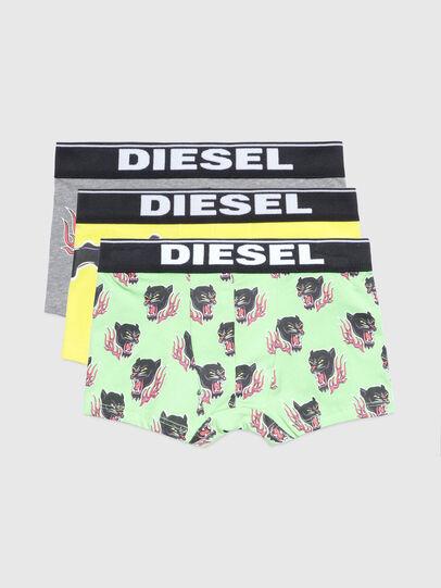 Diesel - UMBX-UDAMIENTHREEPAC, Grün/Grau - Underwear - Image 1