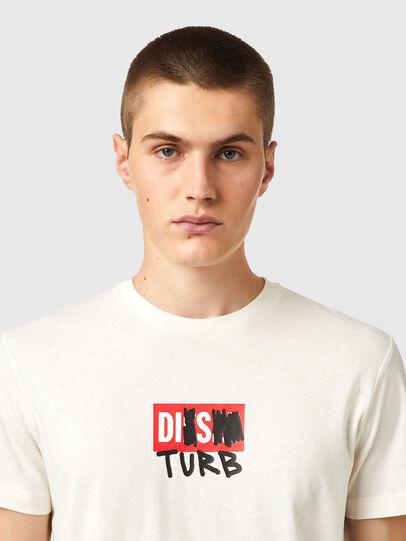 Diesel - T-DIEGOS-B10, Weiß - T-Shirts - Image 3