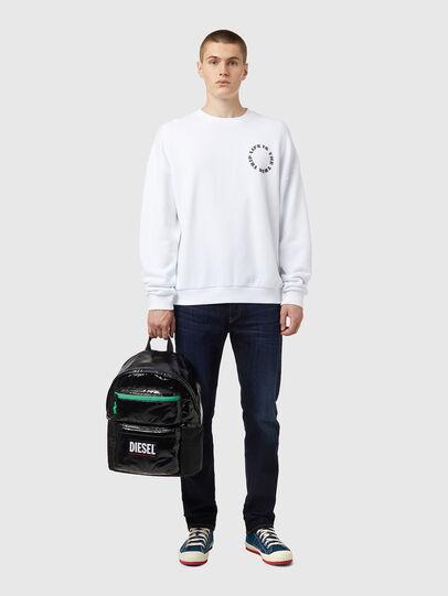 Diesel - S-MART-B3, Weiß - Sweatshirts - Image 4