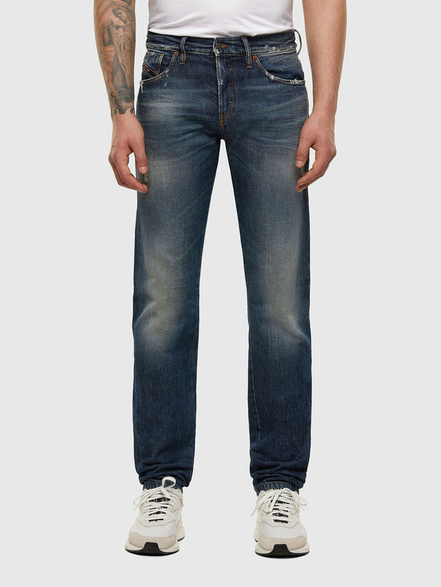 D-Kras 009EW, Dunkelblau - Jeans