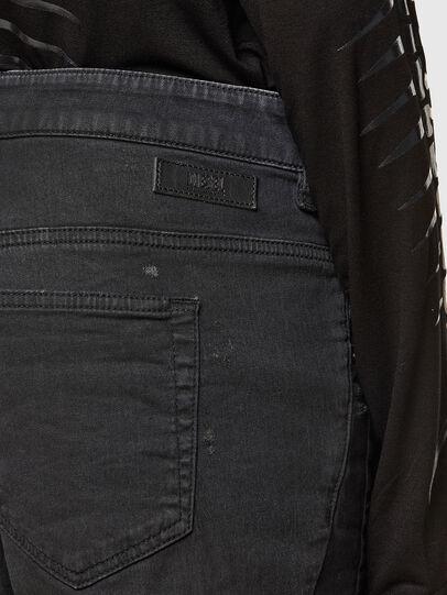 Diesel - FAYZA JoggJeans® 069QL, Schwarz/Dunkelgrau - Jeans - Image 4